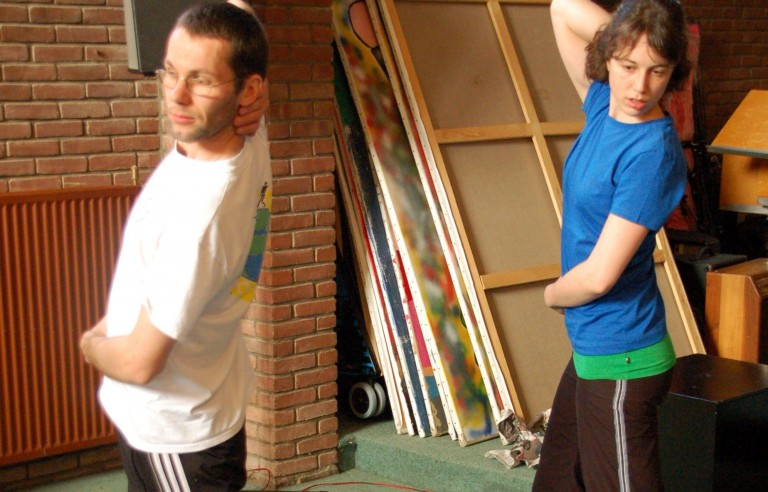 Coaching aan Innovo Theater in Beweging